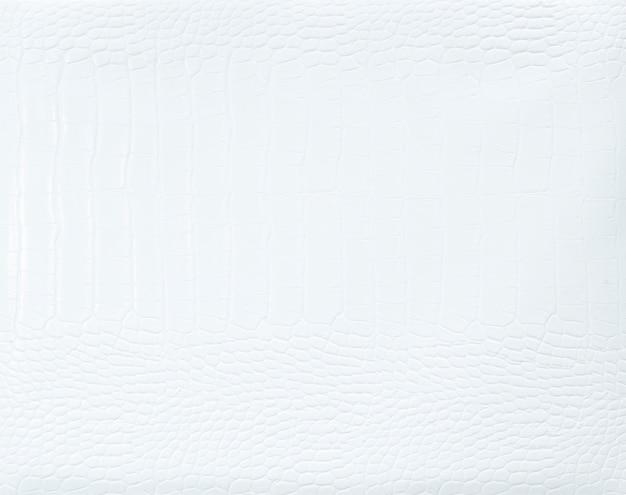 Fundo texturizado de couro branco liso Foto gratuita