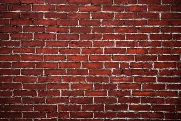 Fundo texturizado de parede de tijolo vermelho Foto gratuita