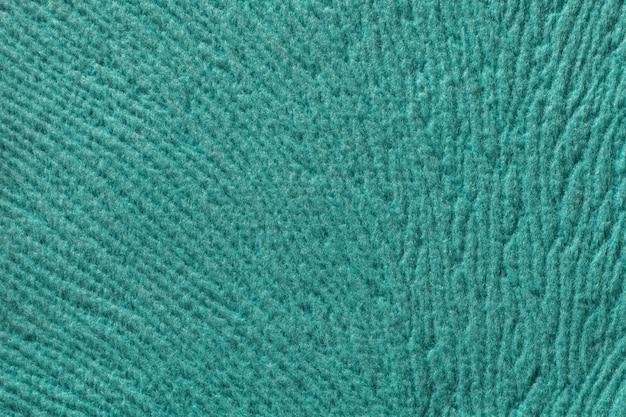 Fundo turquesa de têxteis fleecy Foto Premium