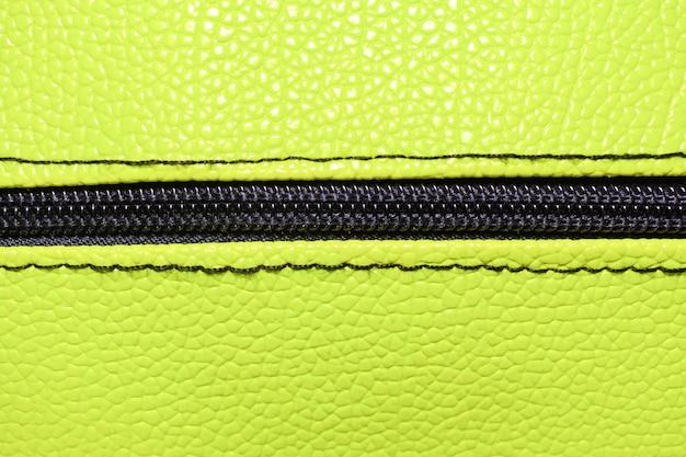 Fundo verde abstrato, bolsa de couro Foto Premium