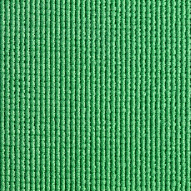 Fundo verde da textura da esteira de ioga Foto Premium