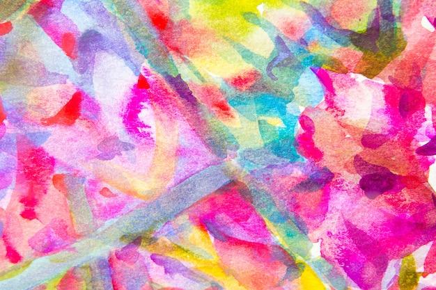 Fundos mão abstrata aguarela pintada Foto gratuita