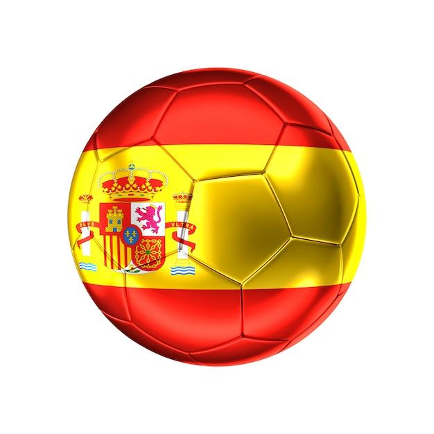Futebol da espanha Foto Premium