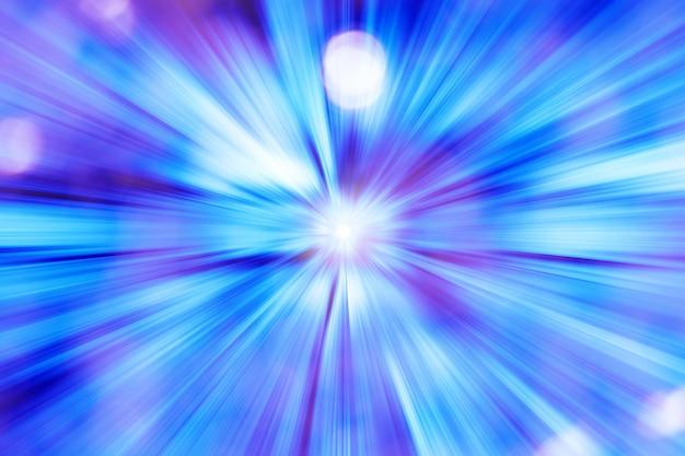 Futurista luz de fundo azul Foto gratuita