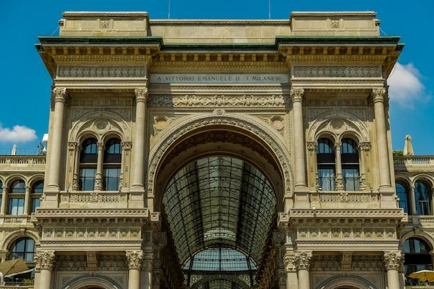 Galleria vittorio emanuele em milão Foto gratuita