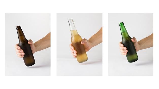 Garrafa de cerveja Foto gratuita