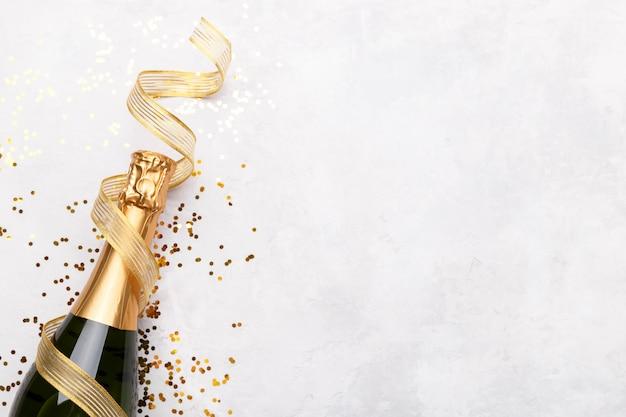 Garrafa de champanhe Foto Premium