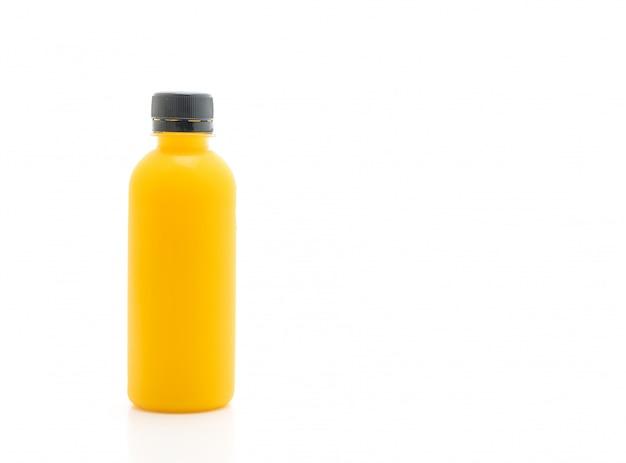 Garrafa de suco de frutas e vegetais (bebida saudável) Foto Premium