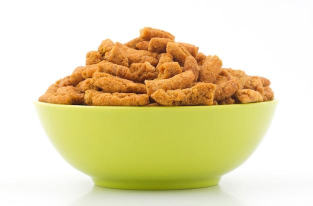 Gathiya namkeen food Foto Premium