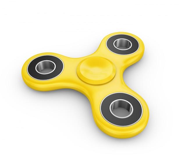 Girador de cor amarela Foto Premium