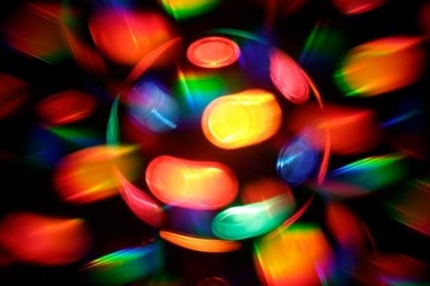 Girando discoteca lâmpada abstrato Foto gratuita
