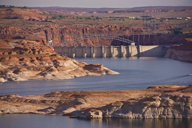 Glen canyon dam arizona Foto gratuita
