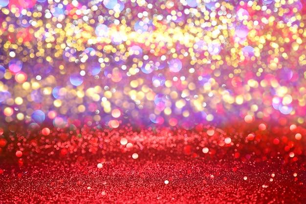 Glitter vermelho textura natal abstrato Foto Premium