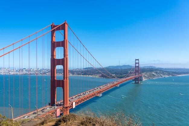 Golden gate bonito em san francisco. Foto Premium