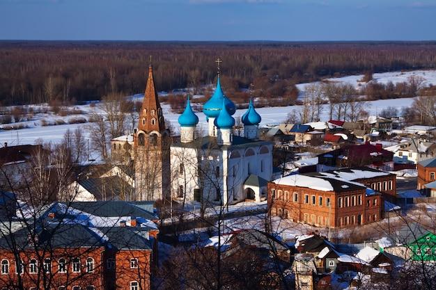 Gorokhovets no inverno. rússia Foto gratuita
