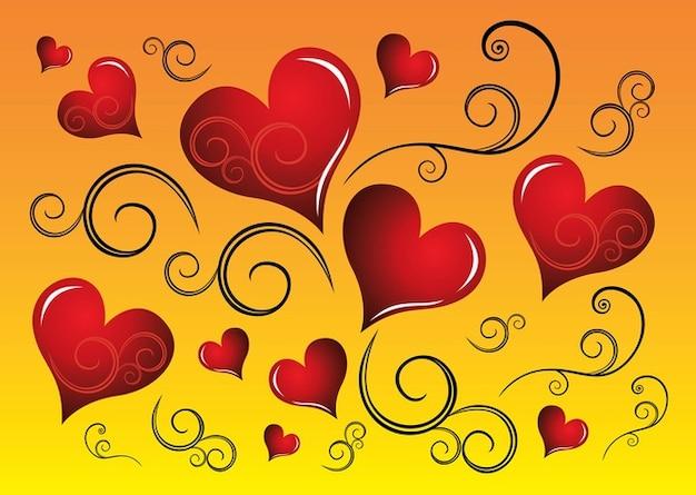 gráficos vetores coração livre