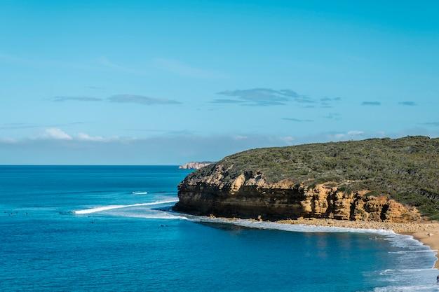 Grande estrada do oceano sideseeing Foto gratuita