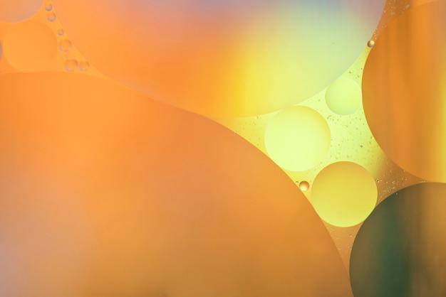 Grande textura de bolhas laranja abstrata Foto gratuita