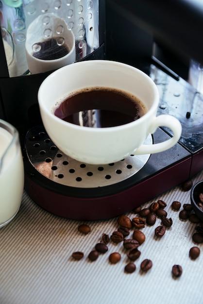 Grãos de café frescos Foto gratuita