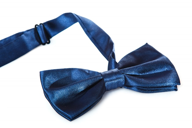 Gravata azul Foto Premium