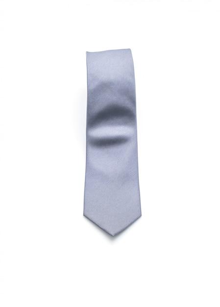 Gravata cinzenta bonita Foto Premium