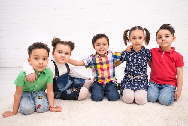Grupo de crianças Foto gratuita