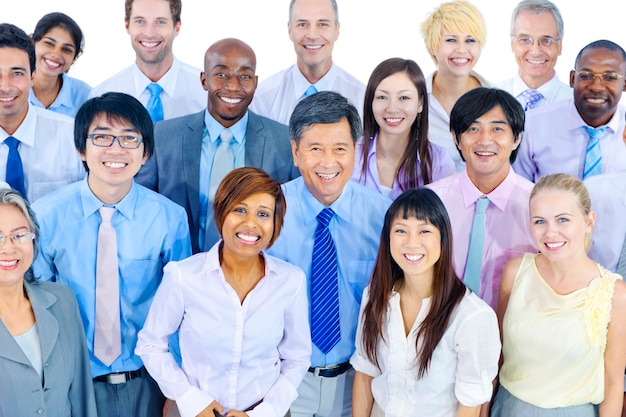 Grupo, de, diverso, pessoas negócio Foto gratuita