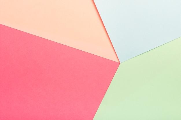 Grupo de folhas de papelão pastel Foto gratuita