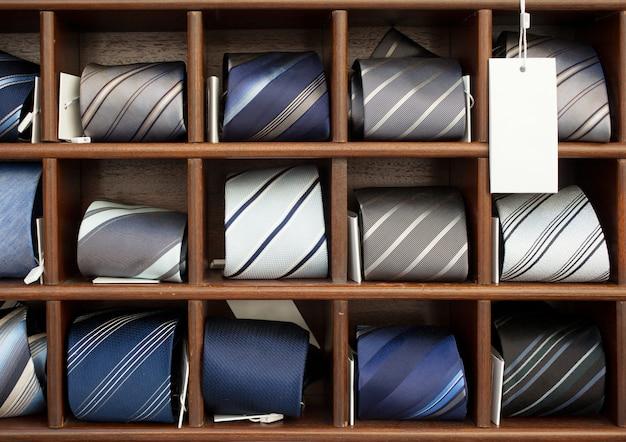 Grupo de gravatas Foto Premium