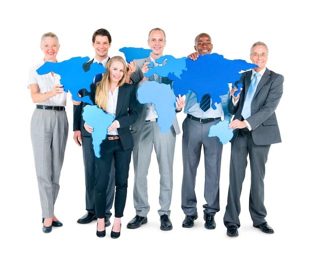 Grupo de pessoas de negócios Foto gratuita