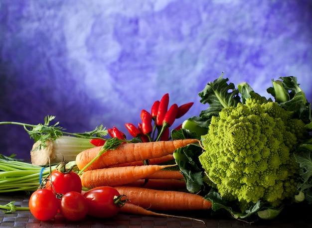 Grupo de vegetais Foto Premium