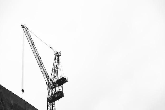 Guindaste de construção Foto gratuita