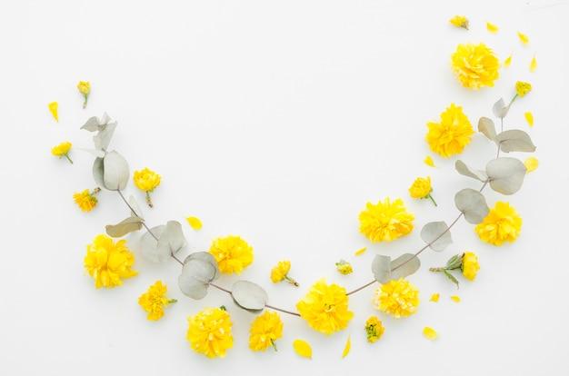 Guirlanda floral Foto gratuita