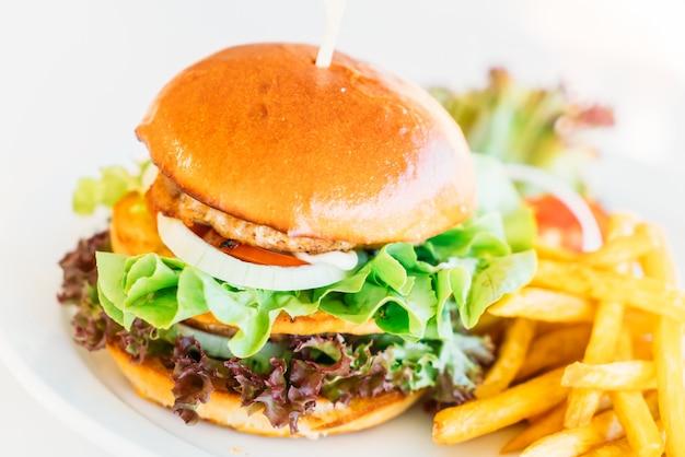Hamburger Foto gratuita