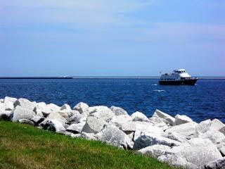 Harborfront milwaukee, lago, água Foto gratuita
