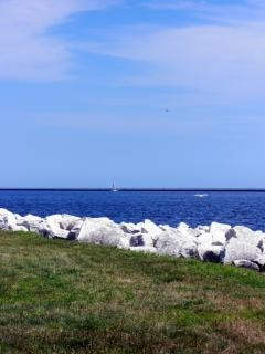Harborfront milwaukee, vela Foto gratuita