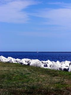 Harborfront milwaukee, veleiro Foto gratuita