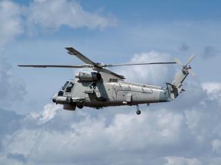 Helicóptero seasprite Foto gratuita