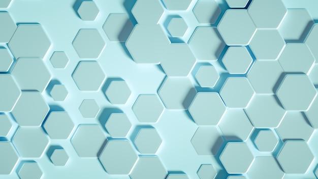 Hexágono de geometria. Foto Premium