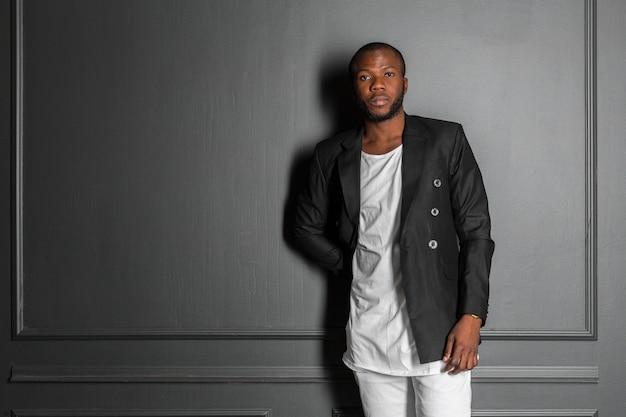 Homem afro-americano Foto Premium