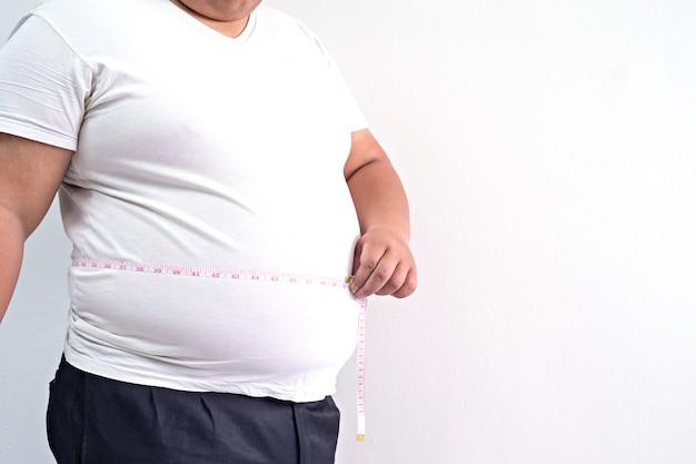 Homem gordo Foto Premium