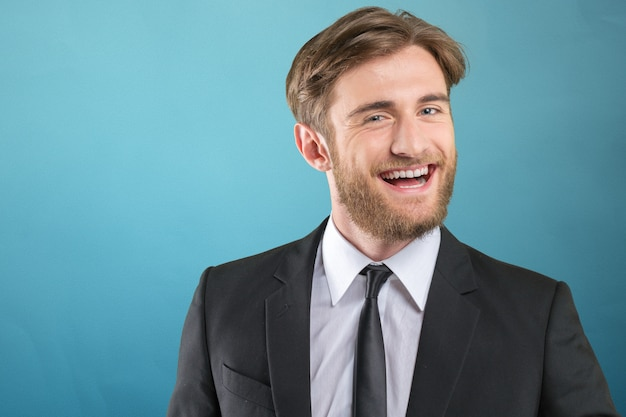 Homem negócios, retrato Foto Premium