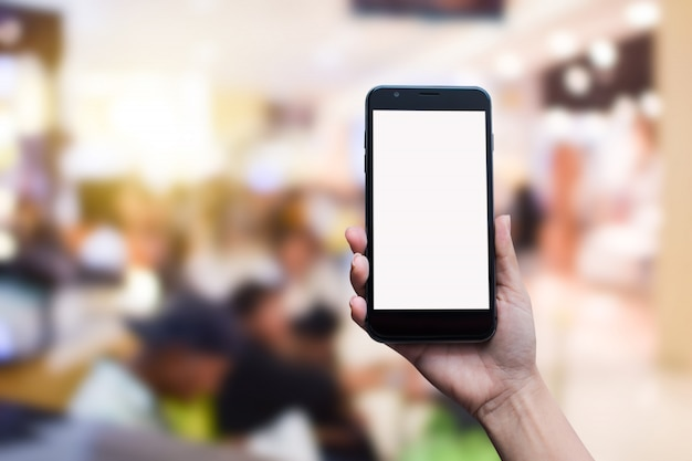 Homem negócios, trabalhando, com, modernos, dispositivos, computador digital, e, telefone móvel Foto Premium