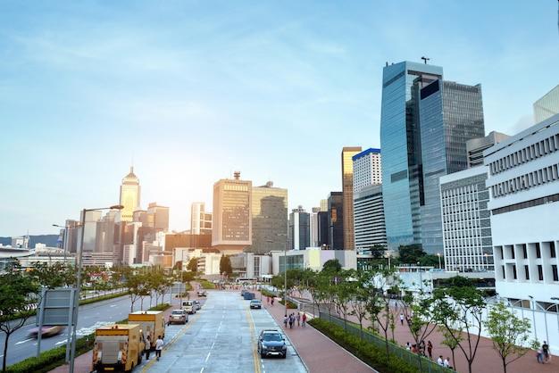 Hong kong, china Foto Premium