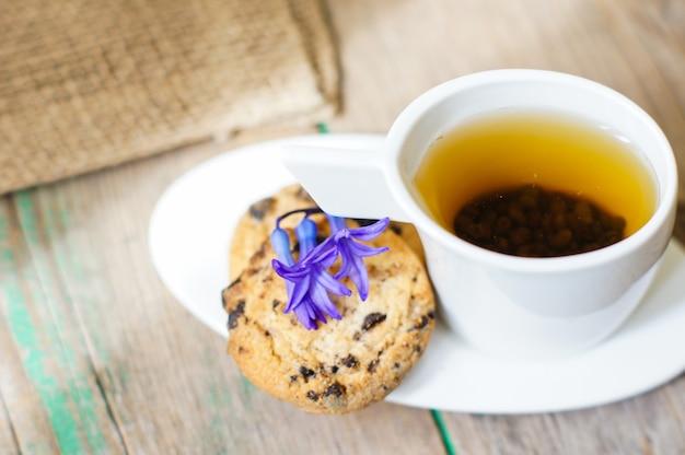 Hora do chá Foto Premium