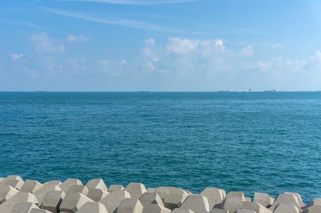 Horizonte ilha ao ar livre bali vista clara Foto gratuita