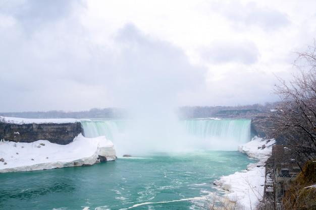 Horseshoe falls niagara Foto Premium