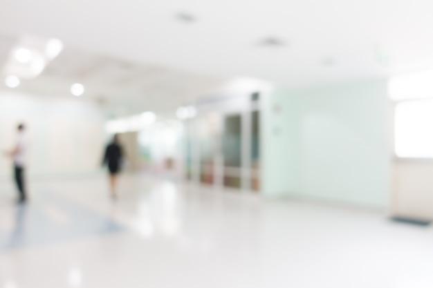 Hospital de borrão Foto gratuita