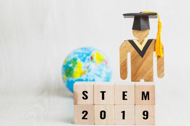 Ideias para a educação stem sobre ciência, tecnologia, engenharia, palavra matemática Foto Premium