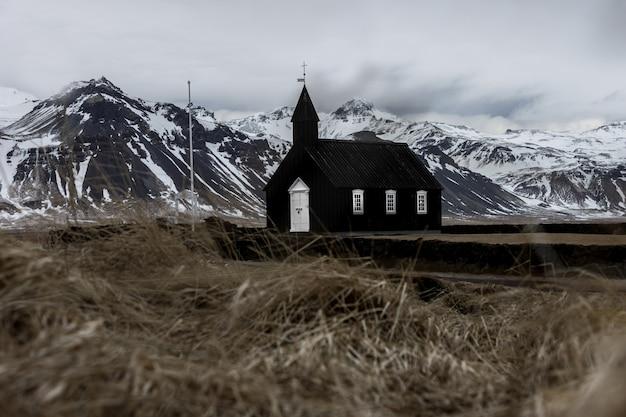 Igreja budista islandesa Foto Premium